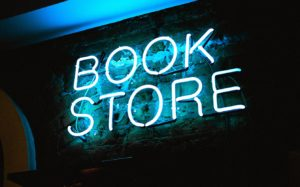 """neon sign """"Book Store"""""""